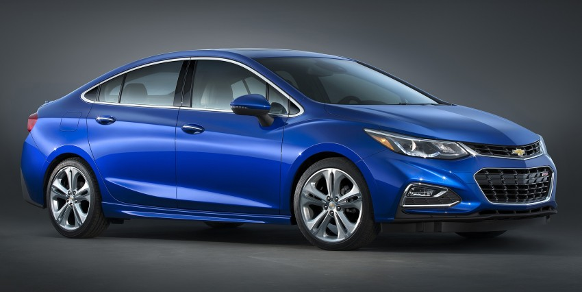 2016 Chevrolet Cruze unveiled for the global market Image #354118