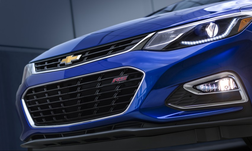 2016 Chevrolet Cruze unveiled for the global market Image #354121