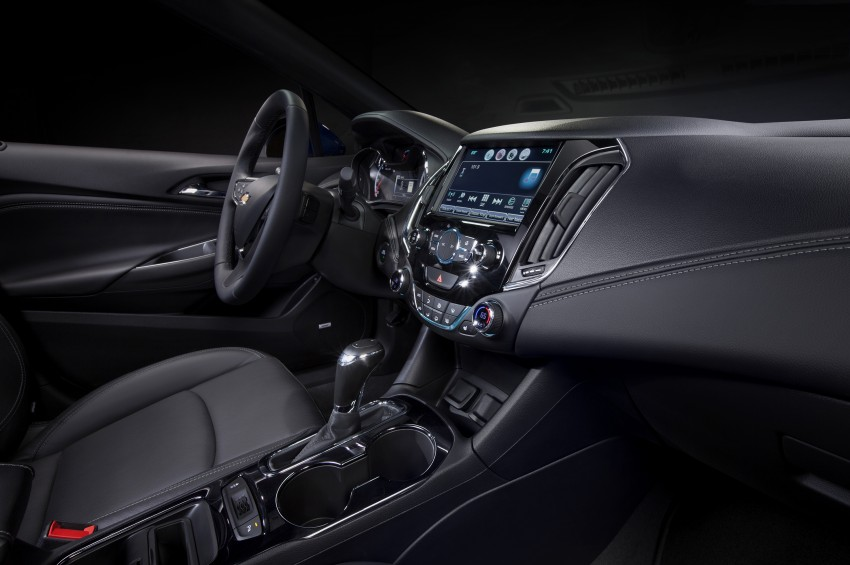 2016 Chevrolet Cruze unveiled for the global market Image #354124
