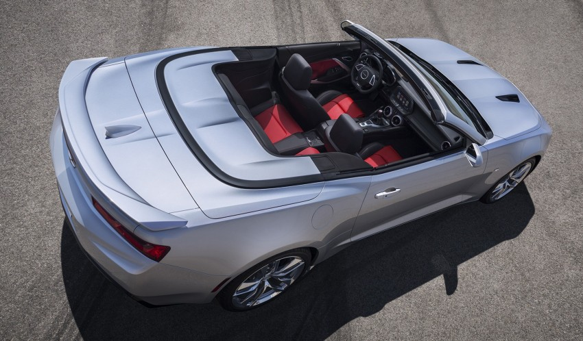2016 Chevrolet Camaro Convertible officially revealed Image #354086