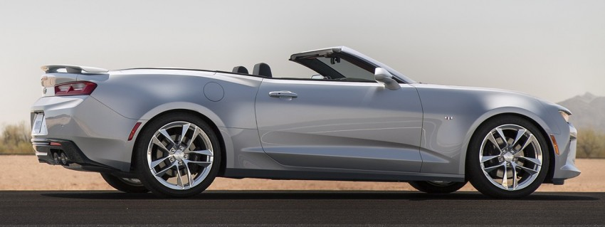 2016 Chevrolet Camaro Convertible officially revealed Image #354089