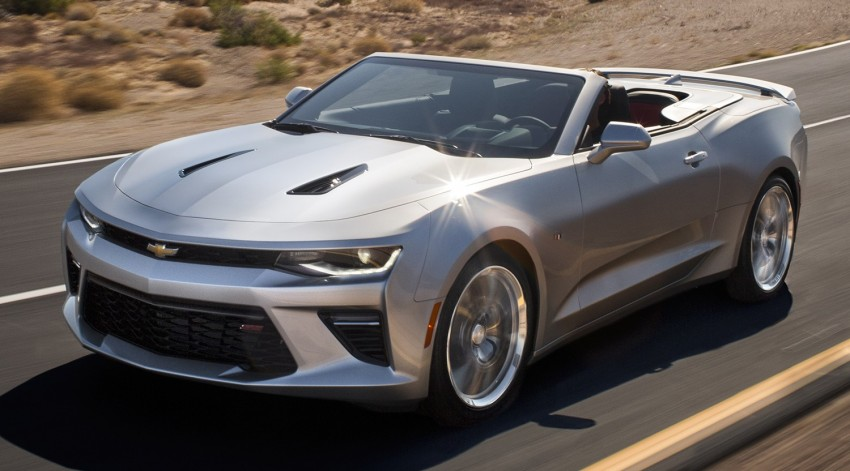 2016 Chevrolet Camaro Convertible officially revealed Image #354091