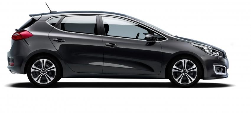 2016 Kia cee'd facelift – 1.0L T-GDi across the range Image #354764
