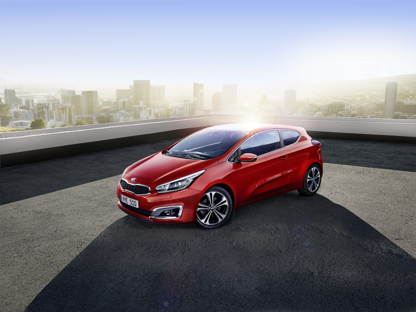 2016 Kia cee'd facelift – 1.0L T-GDi across the range Image #354777
