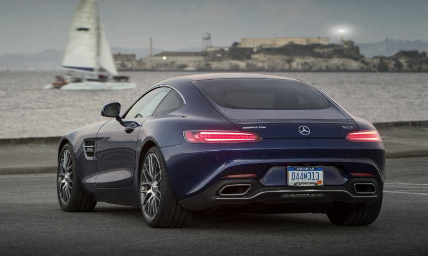 DRIVEN: Mercedes-AMG GT S at Laguna Seca Image #351639