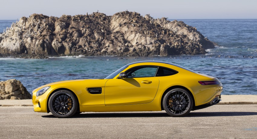 DRIVEN: Mercedes-AMG GT S at Laguna Seca Image #351623