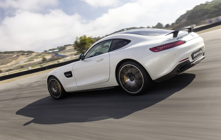 DRIVEN: Mercedes-AMG GT S at Laguna Seca Image #351627