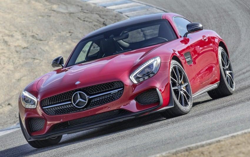 DRIVEN: Mercedes-AMG GT S at Laguna Seca Image #351631