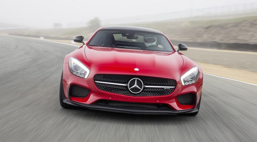 DRIVEN: Mercedes-AMG GT S at Laguna Seca Image #351633