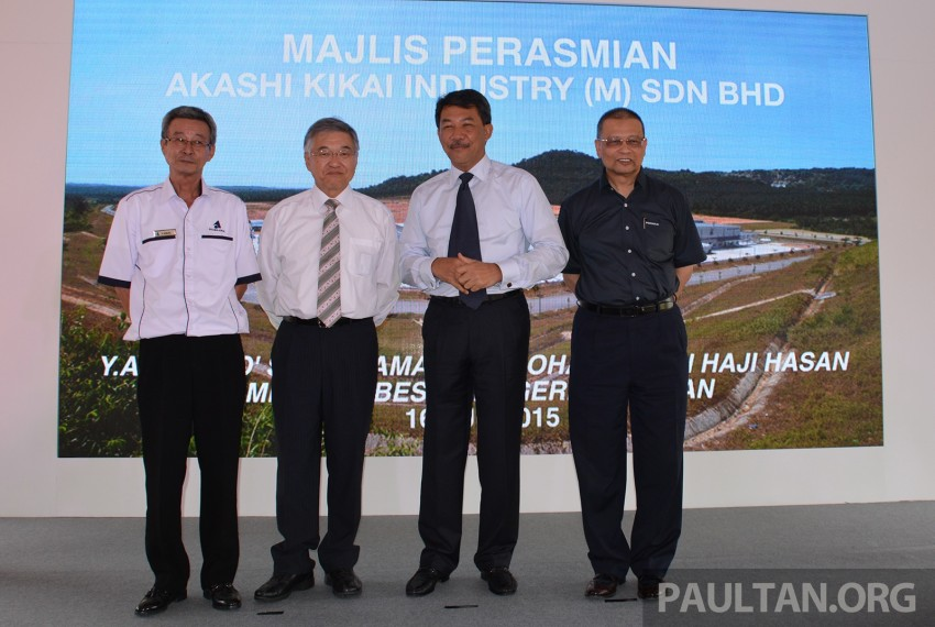 Akashi Kikai transmission plant in Sendayan TechValley launched – supplies E-AT, MT to Perodua Image #351028