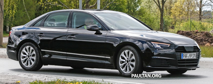 SPYSHOTS: B9 Audi A4 caught without camouflage! Image #347318