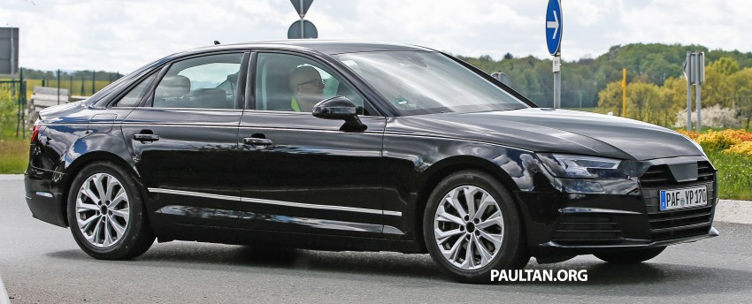 SPYSHOTS: B9 Audi A4 caught without camouflage! Image #347319