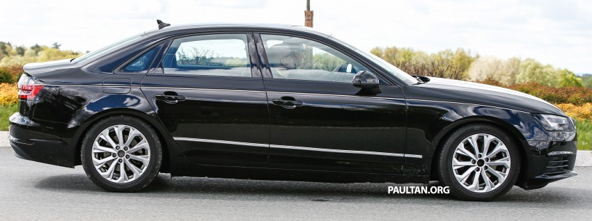 SPYSHOTS: B9 Audi A4 caught without camouflage! Image #347321