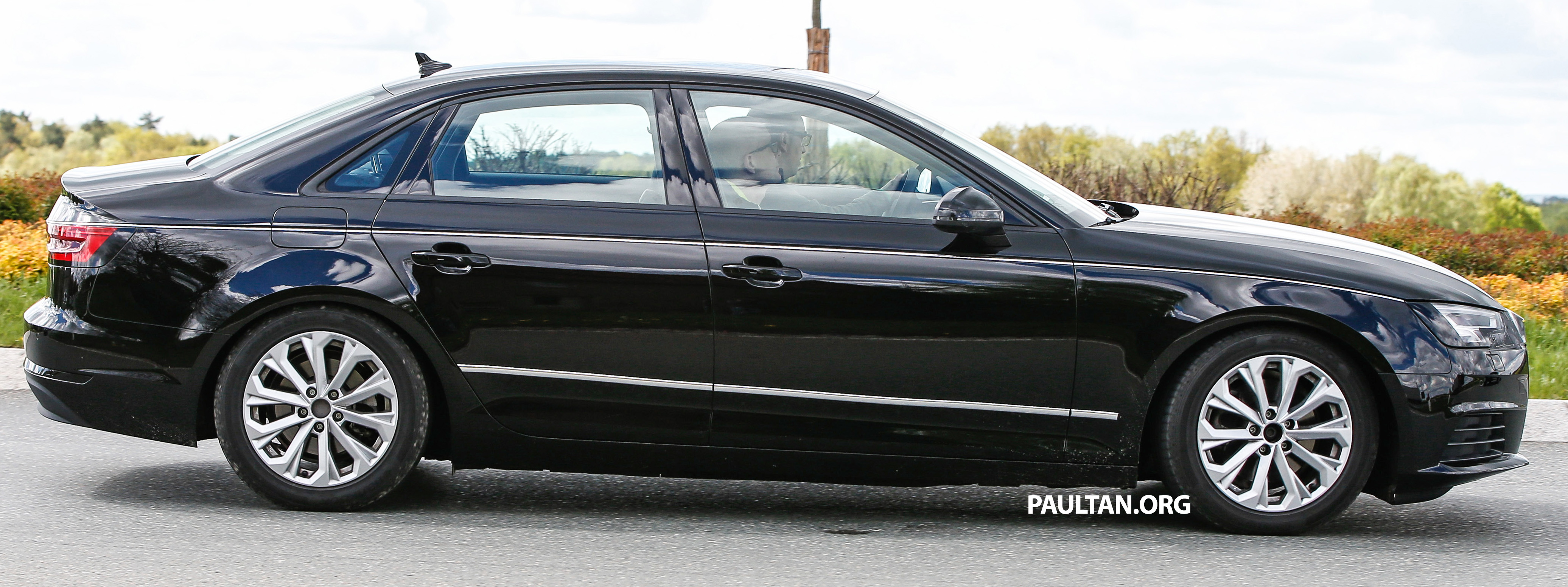 Spyshots B9 Audi A4 Caught Without Camouflage Paul Tan
