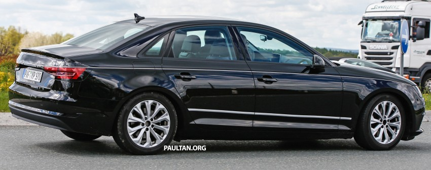 SPYSHOTS: B9 Audi A4 caught without camouflage! Image #347322