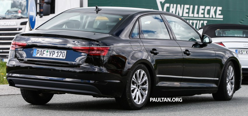 SPYSHOTS: B9 Audi A4 caught without camouflage! Image #347324