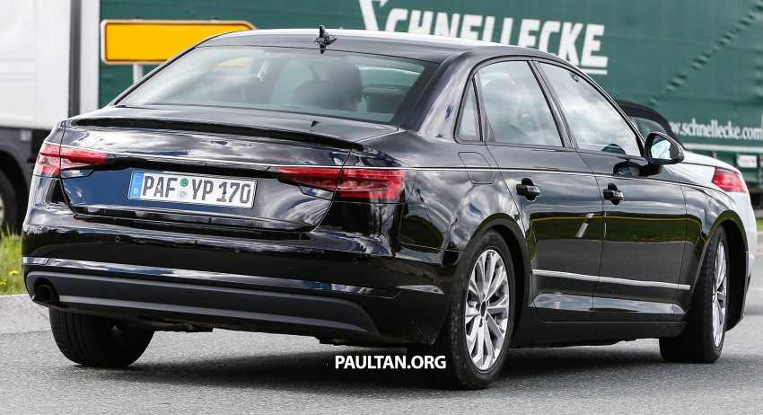 SPYSHOTS: B9 Audi A4 caught without camouflage! Image #347325