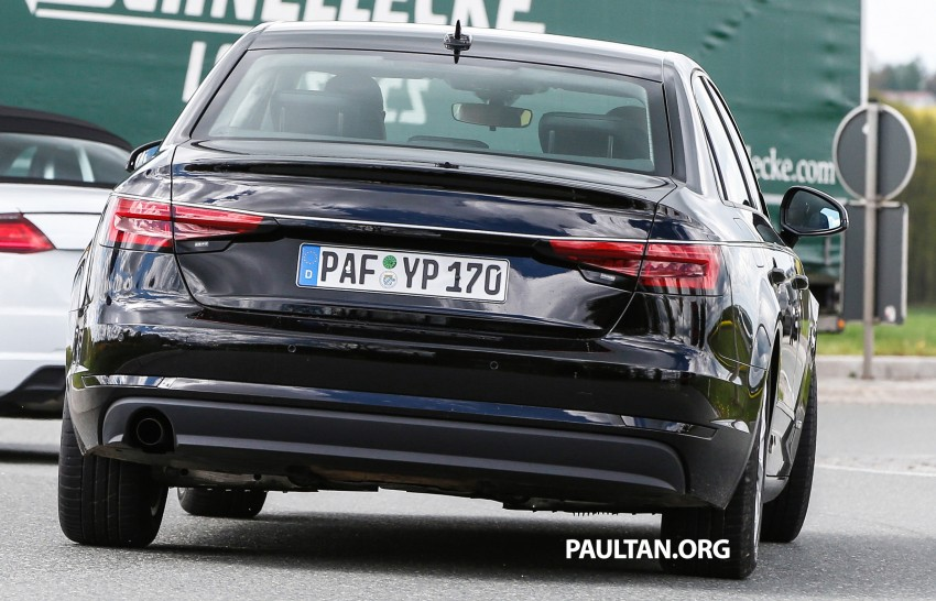 SPYSHOTS: B9 Audi A4 caught without camouflage! Image #347327