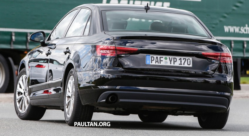 SPYSHOTS: B9 Audi A4 caught without camouflage! Image #347329
