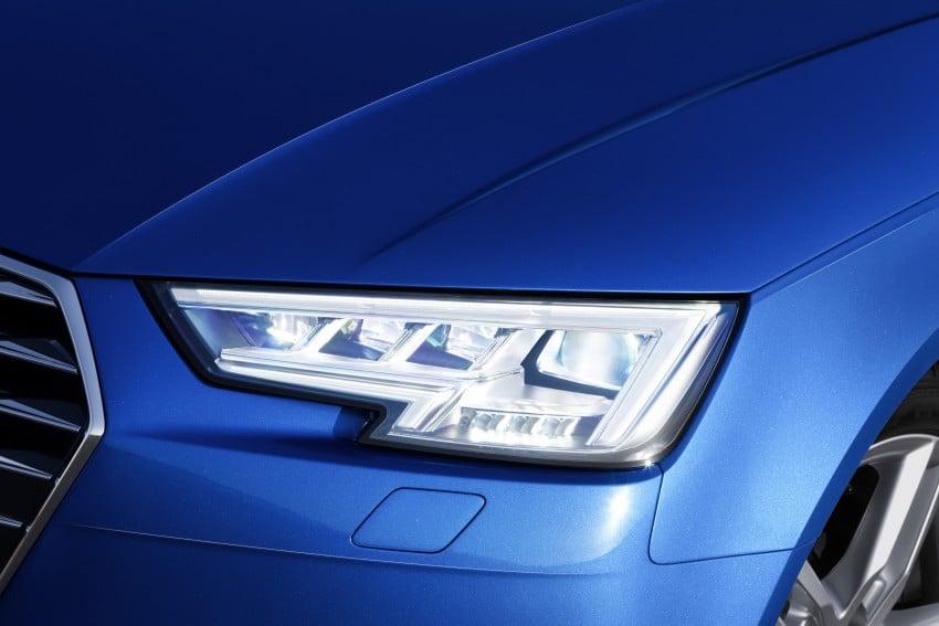 2016 B9 Audi A4 revealed – familiar looks, new tech Image #384088