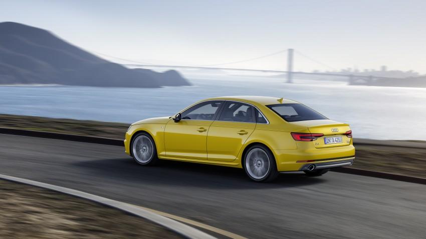 2016 B9 Audi A4 revealed – familiar looks, new tech Image #384090