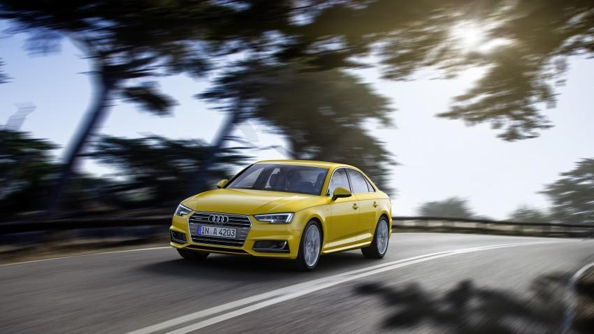 2016 B9 Audi A4 revealed – familiar looks, new tech Image #384091