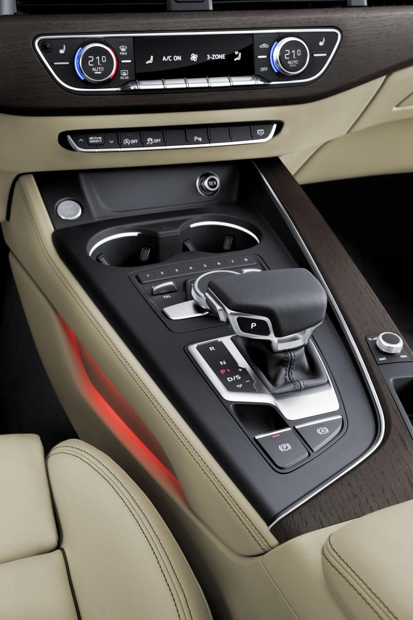 2016 B9 Audi A4 revealed – familiar looks, new tech Image #384098