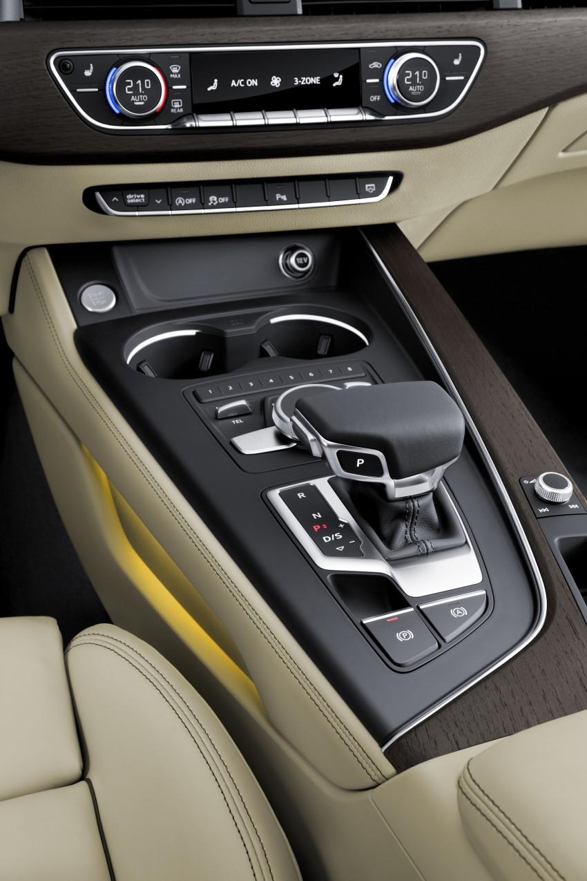 2016 B9 Audi A4 revealed – familiar looks, new tech Image #384100