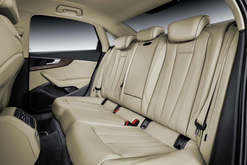 2016 B9 Audi A4 revealed – familiar looks, new tech Image #384107