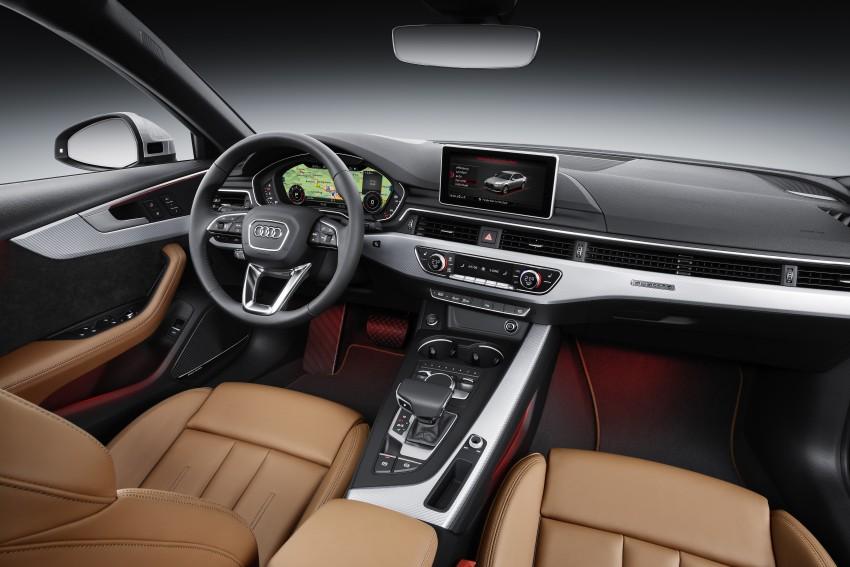 2016 B9 Audi A4 revealed – familiar looks, new tech Image #384109