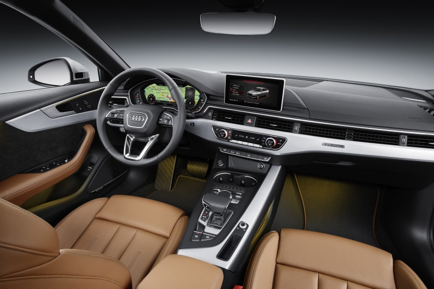 2016 B9 Audi A4 revealed – familiar looks, new tech Image #384110