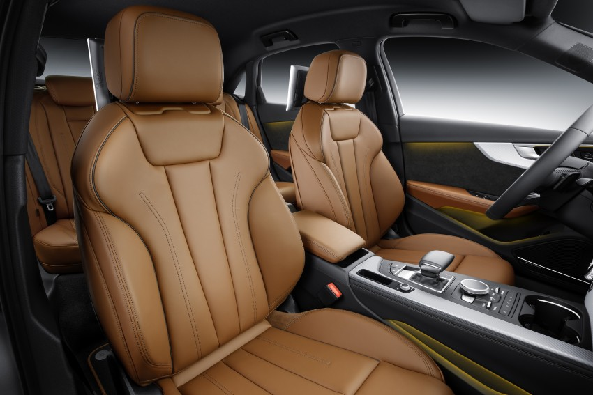 2016 B9 Audi A4 revealed – familiar looks, new tech Image #384111