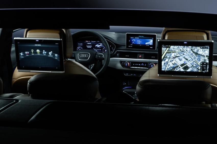 2016 B9 Audi A4 revealed – familiar looks, new tech Image #384113