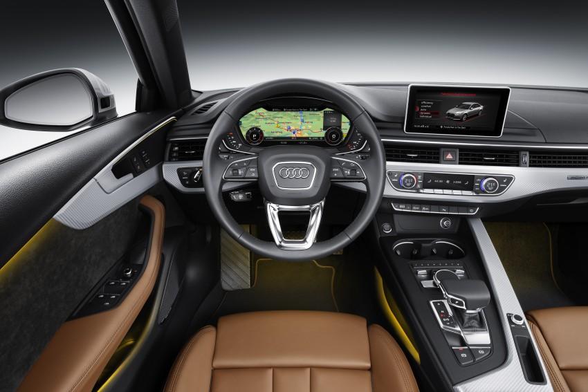 2016 B9 Audi A4 revealed – familiar looks, new tech Image #384114