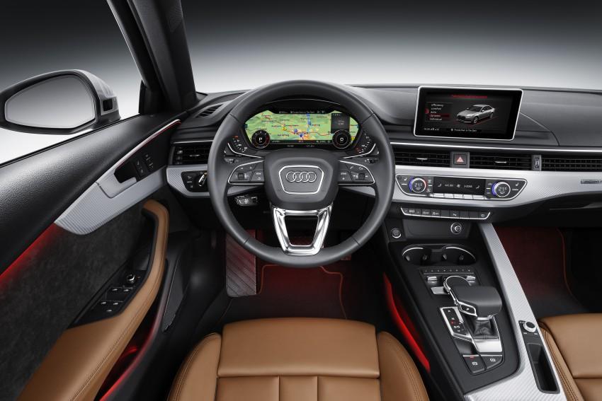 2016 B9 Audi A4 revealed – familiar looks, new tech Image #384121