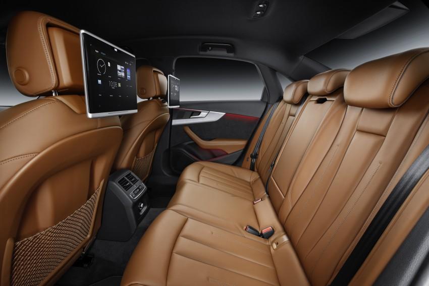 2016 B9 Audi A4 revealed – familiar looks, new tech Image #384125