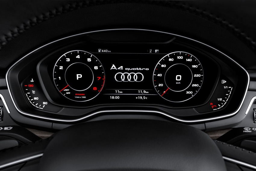 2016 B9 Audi A4 revealed – familiar looks, new tech Image #384131