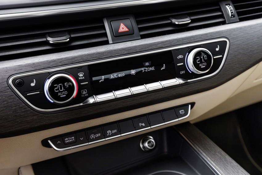 2016 B9 Audi A4 revealed – familiar looks, new tech Image #384144