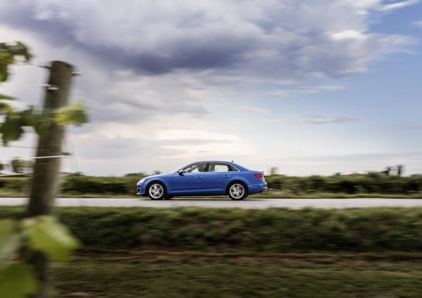 2016 B9 Audi A4 revealed – familiar looks, new tech Image #384147