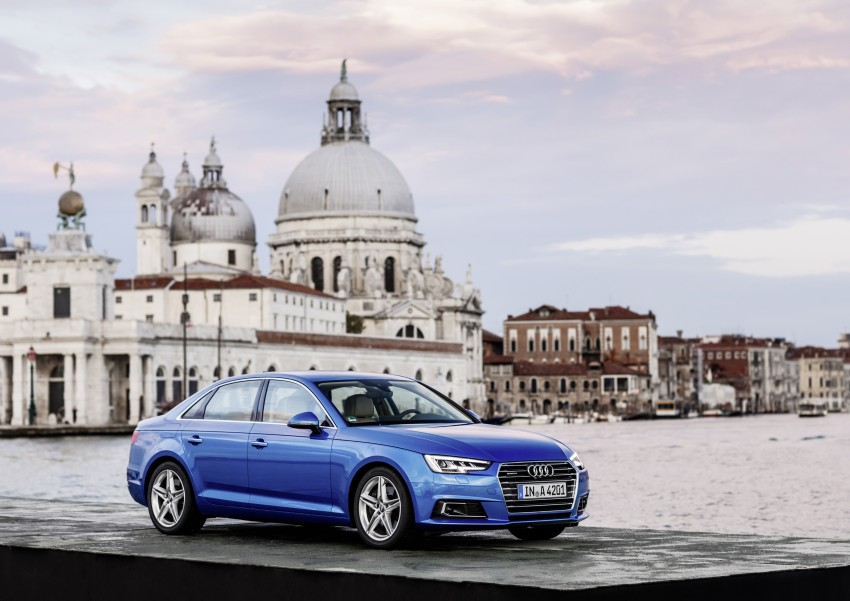2016 B9 Audi A4 revealed – familiar looks, new tech Image #384148