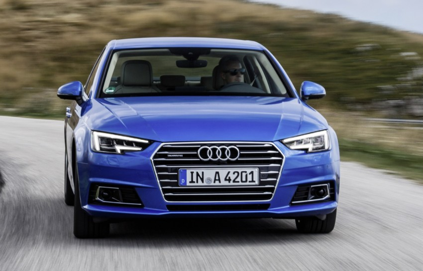 2016 B9 Audi A4 revealed – familiar looks, new tech Image #384153