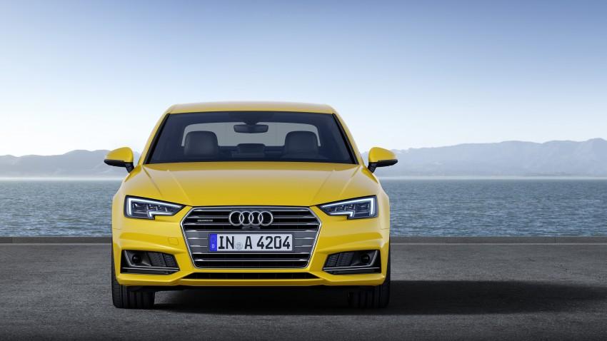 2016 B9 Audi A4 revealed – familiar looks, new tech Image #384158