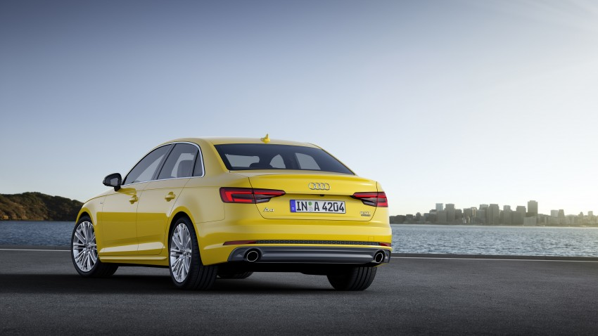 2016 B9 Audi A4 revealed – familiar looks, new tech Image #384160