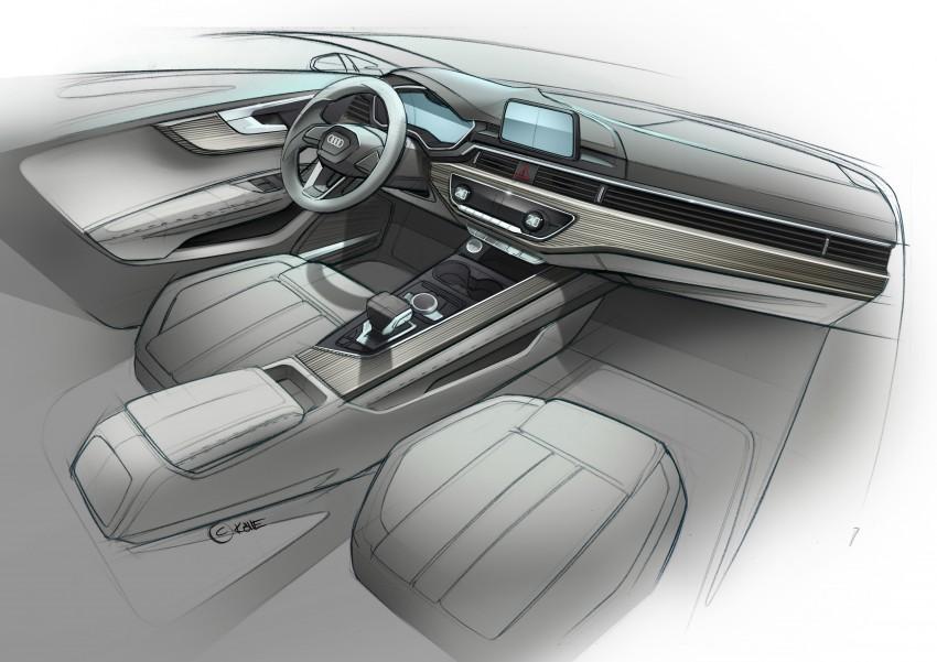 2016 B9 Audi A4 revealed – familiar looks, new tech Image #384008