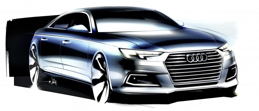 2016 B9 Audi A4 revealed – familiar looks, new tech Image #384011