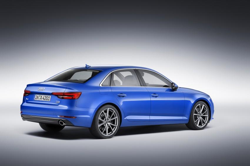 2016 B9 Audi A4 revealed – familiar looks, new tech Image #384012