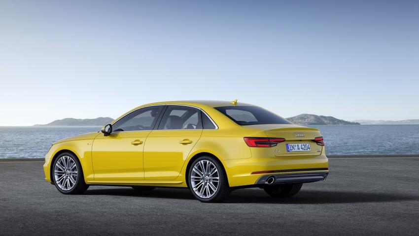 2016 B9 Audi A4 revealed – familiar looks, new tech Image #384020