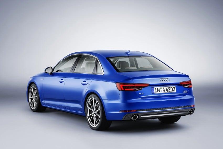 2016 B9 Audi A4 revealed – familiar looks, new tech Image #384022