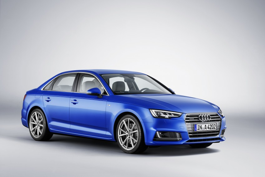 2016 B9 Audi A4 revealed – familiar looks, new tech Image #384023