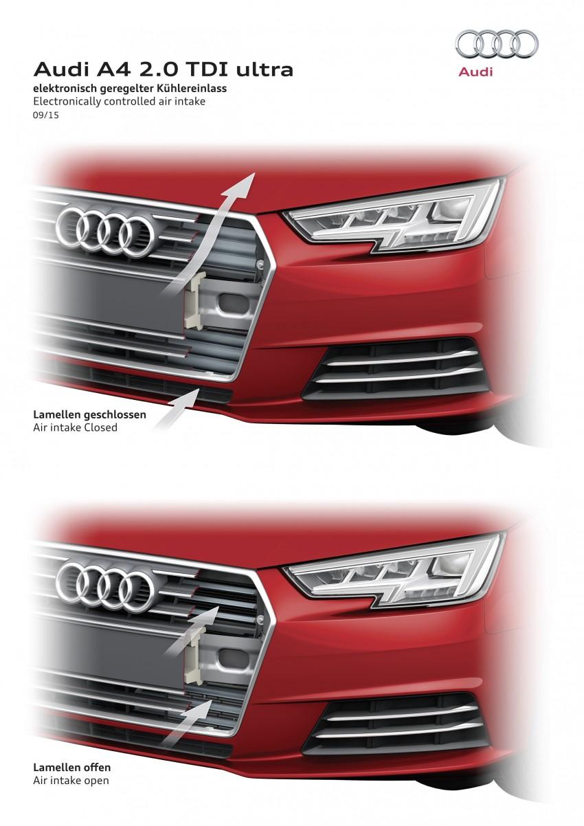 2016 B9 Audi A4 revealed – familiar looks, new tech Image #384036